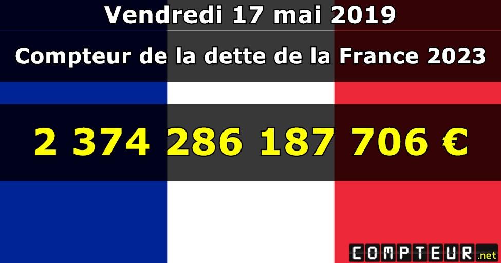 sports shoes 7b9c1 7381f Compteur de la dette de la France