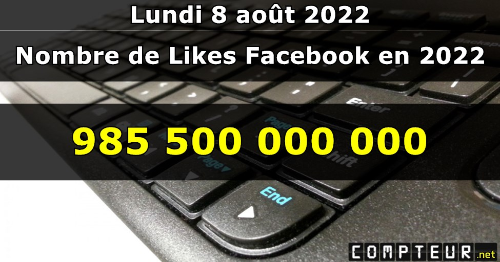 Compteur : Likes Facebook